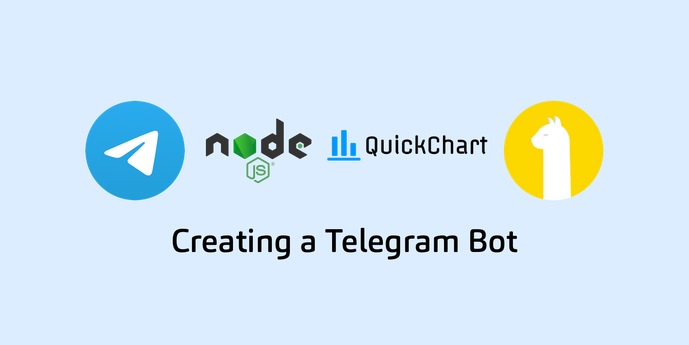 Creating a Telegram Bot using NodeJS, Alpaca API, and QuickCharts