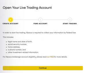 How to Open a Live Trading Account as a US Resident?
