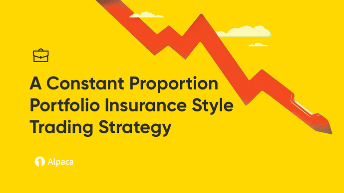 A Constant Proportion Portfolio Insurance Style Trading Strategy