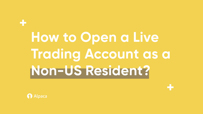 How to Open a Live Trading Account as a Non-US Resident?