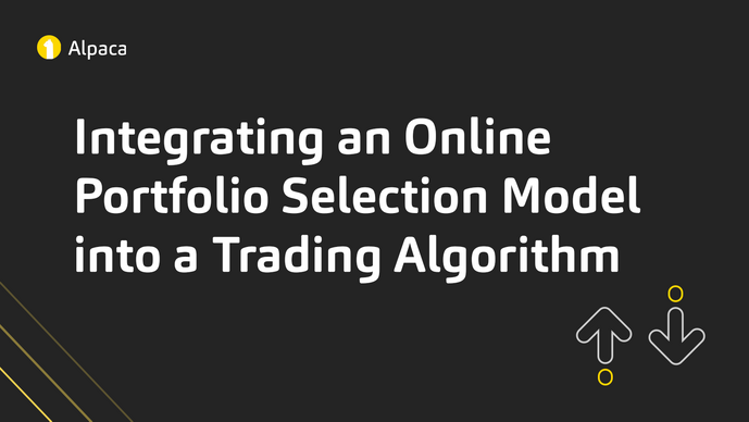 Integrating an Online Portfolio Selection Model into a Trading Algorithm
